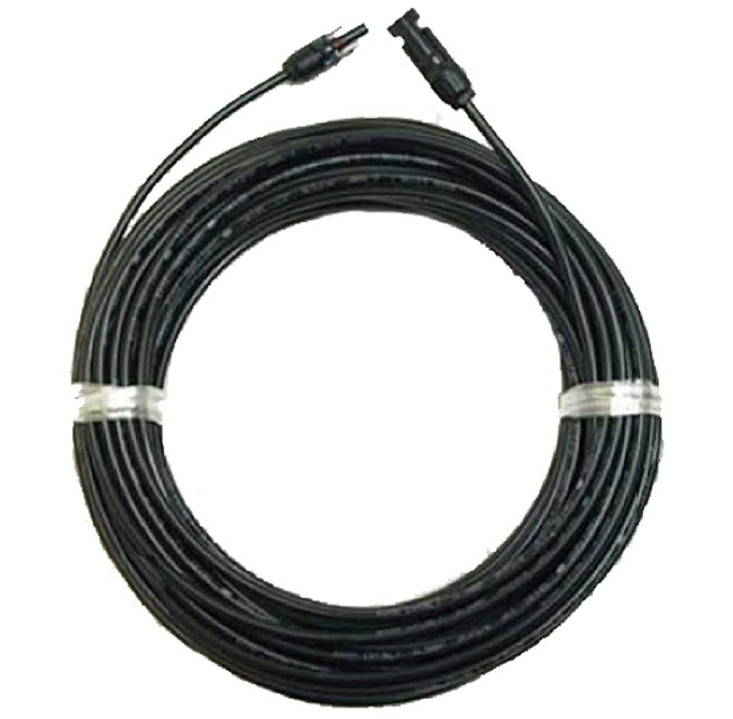 アシスタントあたり包帯ソーラーケーブル延長ケーブル20m(MC4型コネクター付 両端 1本)ESCO PVケーブル 3.5sq-H-CV600用 太陽光パネル