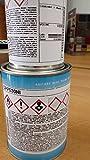 Laccatura poliuretanica per legno Bianco opaco 30 gloss. Vernice poliuretanica bicomponente 1 lt di vernice + 1/2 lt catalizzatore totale 1,5 lt Vernice per uso professionale