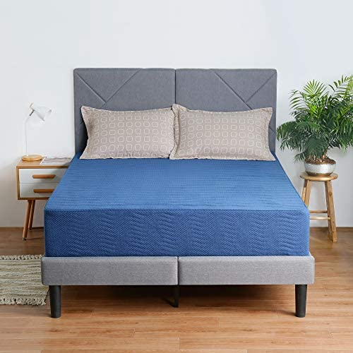 Olee Sleep 8 Inch New Safe Comfort Memory Foam Mattress Blue Queen product image