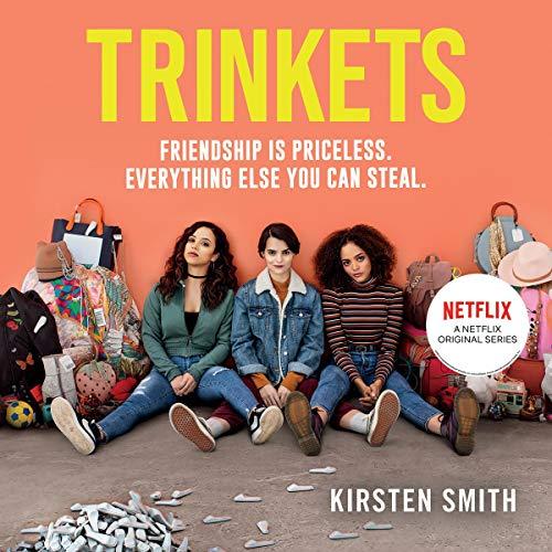 Trinkets audiobook cover art