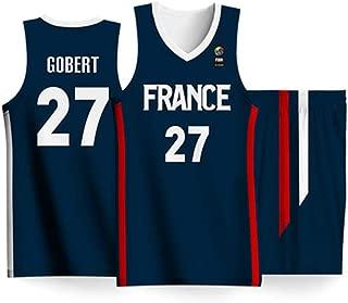 ATI-HSKJ Maillots De Basket-Ball Masculin # 13 James Harden Rouge Jeu Basketball Fans Vestes Uniformes R/étro Respirante Manches T-Shirt Jersey BH057,2XL:185cm~190cm