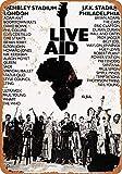 YASMINE HANCOCK 1985 Live Aid London Philadelphia Metall