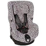 Bezug Maxi-Cosi Axiss Kindersitz Rosa Schwarz Punkte Schweißabsorbierend und weich für Ihr Kind Schützt vor Verschleiß und Abnutzung Öko-Tex 100 Baumwolle
