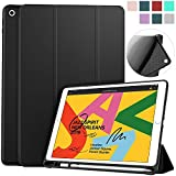 Soke iPad 7th Generation Case,Compatible for iPad 8th Generation(2020 Release)New iPad Case 10.2 Case with Pencil Holder,Lightweight Smart Cover with Soft TPU Back,Auto Sleep/Wake for iPad 7th/8th Gen