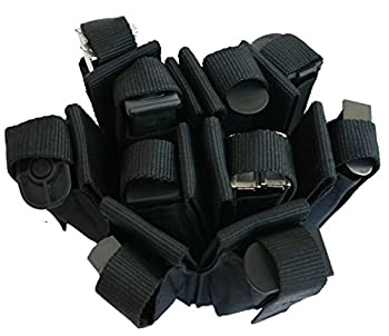 Explorer Tactical Open-Top Mag Pouch for AR M4 M16 HK416 Magazines M16 Type Magazine Pouch Mag Holder - Triple/Double/Single Airsoft Mag Pouch