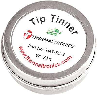 Thermaltronics TMT-TC-2 Lead Free Tip Tinner (20g) in 0.8oz Container by Thermaltronics