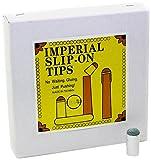 Imperial Economy 13.5 mm Slip-On Billiard/Pool Cue Tips, Box of 100
