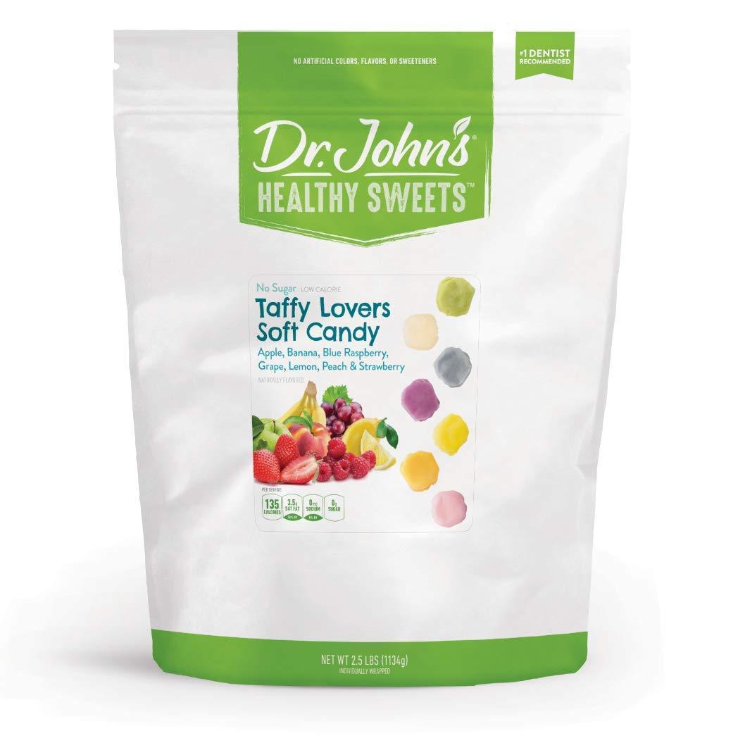Dr. Overseas Popular parallel import regular item John's Healthy Sweets Sugar 2.5LB Free Lover's Taffy