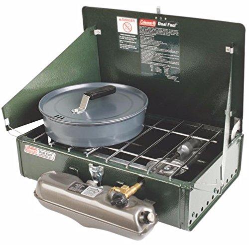 Product Image 4: Coleman 2 Burner Dual Fuel Compact Liquid Fuel Stove