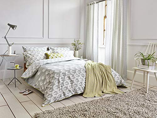 Scion Pajaro Duvet Cover, Double, Steel