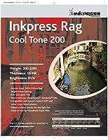 INKPRESS メディア200GSM、15ミル、95パーセント明るい、両面写真用紙 (#PRCT200131925)