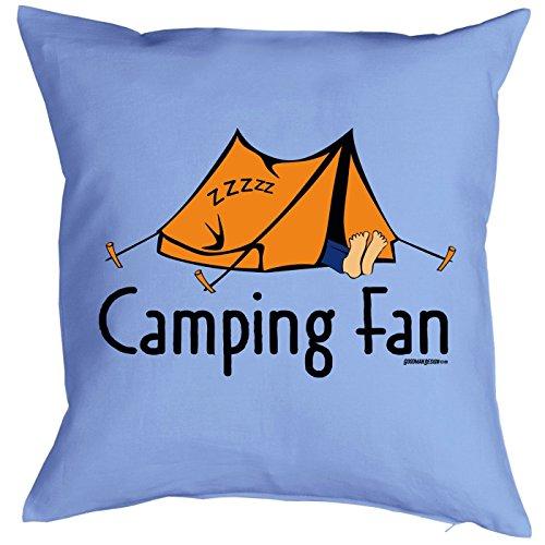 Camping Artikel Kissen mit Füllung Camping Fan für den Wohnwagen Caravan für Camper Camping