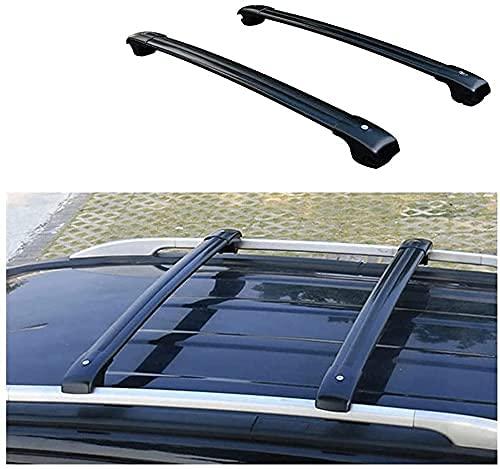 Mayz Bastidor de techo para Lexus RX RX270 RX350 RX450 2009 – 2015, portaequipajes antirrobo de aluminio