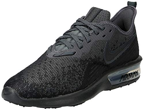 Nike Air Max Sequent 2 Womens Running Trainers AO4486 Sneakers Shoes (UK 6 US 8.5 EU 40, Black Anthracite 002)