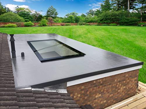 Thermolight Skylight Flat Roof Lantern Rooflight 1500mm x 1000mm (External Size) Triple Glazed