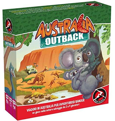 Red Glove - Australia Outback Gioco da Tavolo
