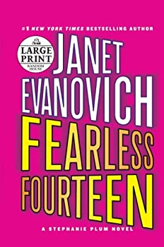 Paperback Fearless Fourteen [Large Print] Book