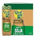 Vivesoy - Bebida de Soja sabor Intenso -  Paquete de 6 x 1000 ml - Total: 6 L