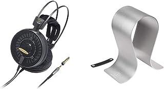 audio-technica エアーダイナミック オープン型ヘッドホン ハイレゾ音源対応 ATH-AD2000X ブラック+audio-technica ヘッドホンスタンド アルミ 高級タイプ AT-HPS700