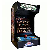 Doc and Pies Arcade Factory Classic Home Arcade Machine - Tabletop and Bartop - 412 Retro Games - Full Size LCD Screen, Buttons and Joystick (Black)