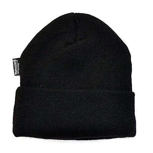 Mütze Thinsulate wasserabweisend, schwarz