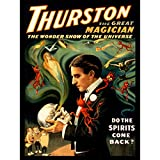 Bumblebeaver Theatre Vaudeville Thurston Magic Stage Show USA Vintage Poster Art Print 12x16 inch 30x40cm 942PY