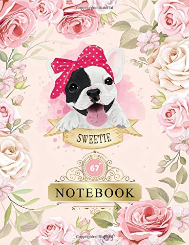 Notebook: Funny Cool Gift 67th Birthday Anniversary Gifts - Sixty-Seventh Birthday Gifts Cute Dog Design  Gifts - Sixty-Seven year Old Birthday ... Sixty-Seven Wedding Anniversary Journal Gift