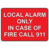火災呼び出し911 ESの場合のみローカルアラーム