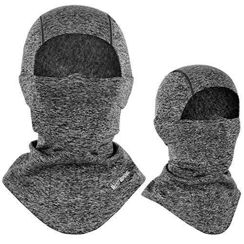 Sturmhaube Winter Skimaske, Winddichte warme Gesichtsmaske für Männer Frauen, Kaltes Wetter Thermal Fleece Outdoor Sports Schutzausrüstung für Radfahren, Skifahren, Snowboarden und Motorradfahren