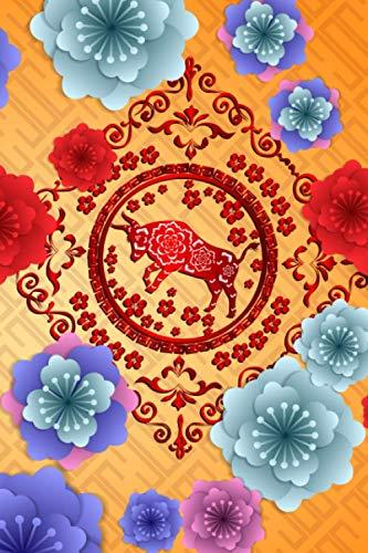 FELIZ AÑO NUEVO CHINO: CUADERNO LINEADO | DIARIO, CUADERNO DE NOTAS, APUNTES O AGENDA | REGALO CREATIVO Y ORIGINAL | Ref. 10016