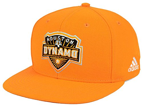 adidas Houston Dynamo MLS - Gorro con logotipo (tamaño grande), color naranja