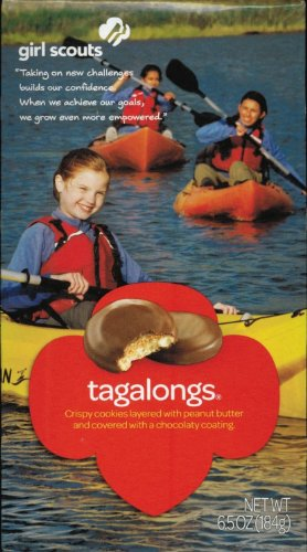 Girl Scout Cookies Peanut Butter Patties (Formerly Tagalongs) ( 1- 6.5 Oz. box)