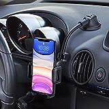 Mpow Handyhalter fürs Auto Handyhalterung Armaturenbrett & Windschutzscheiben 2 in 1 Universale KFZ