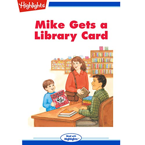 Mike Gets a Library Card copertina
