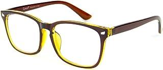 Cyxus Blue Light Blocking Glasses for Women Men UV Filter Square Frame Computer Gaming Reading Eyeglasses Anti Eye Strain ...