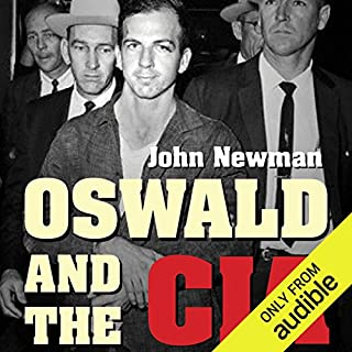 Oswald and the CIA audiobook cover art