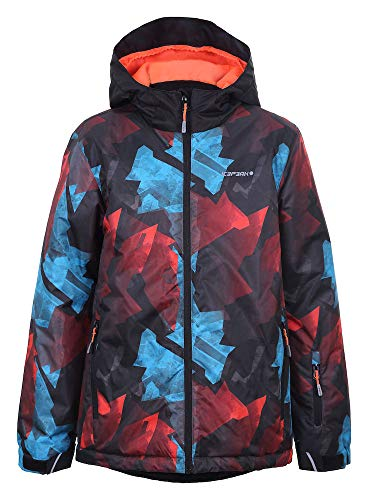 Icepeak Jungen Locke JR Jacke Kinder, orange, 176