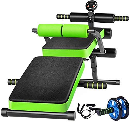 Sit-Ups Fitnessgeräte Home Multifunktionsklappbare Rückenlehne Bauch Sporthilfen Übung Bauchmuskeln Faltbare Aufbewahrung Leicht zu transportieren Platz sparen