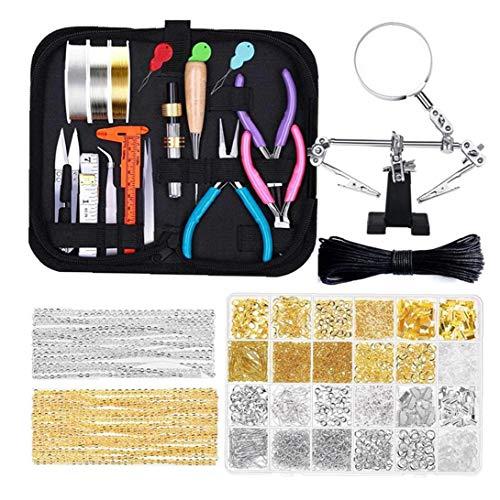 Fabricación de la joyería Pinzas Kit colorean el Pendiente encantos Wires de la joyería alicates de los Resultados de la joyería Que Hace la reparación DIY Hecho a Mano