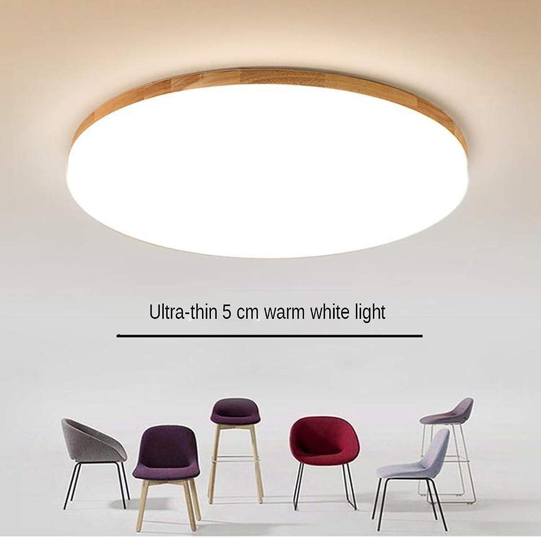 Deckenleuchte LED Φ48cmH5cm) (6000K), Licht weies (Kühles ...