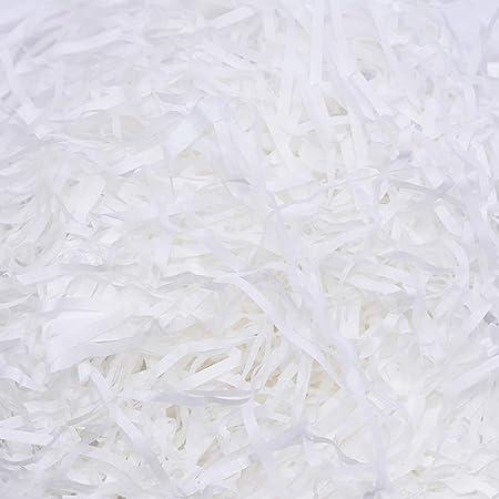 Creative Deco 1kg Schwarz F/üllmaterial aus Papier Verpackungs-Material f/ür Weihnachts-Geschenke und Geschenk-k/örbe Deko-Stroh f/ür Zuhause Papier-Schnitzel