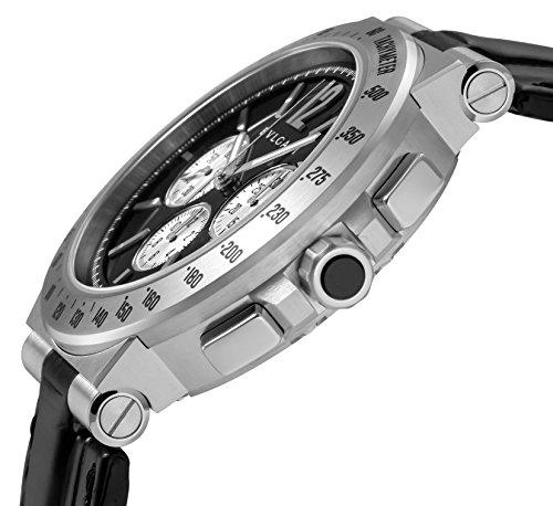 [ブルガリ] 腕時計 ディアゴノタキメトリック ブラック文字盤 DG41BSLDCHTA 並行輸入品 ブラック