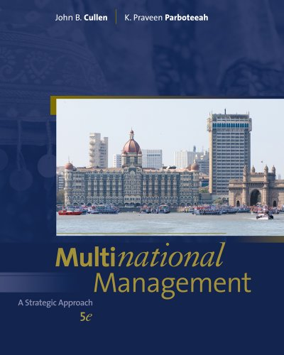 Multinational Management (Available Titles CourseMate)