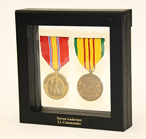 sfDisplay.com,LLC. 1-2 Military Medals Pins Patches Badge Insignia Display Case Box Frame Shadowbox