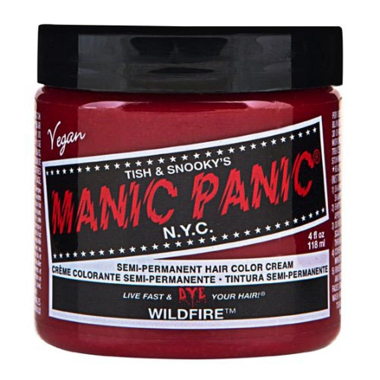 実施するアレルギー性不安定マニックパニック カラークリーム ワイルドファイヤー