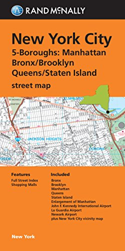 MAP-RM NEW YORK CITY 5 BOROUGH