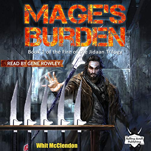Mage's Burden audiobook cover art