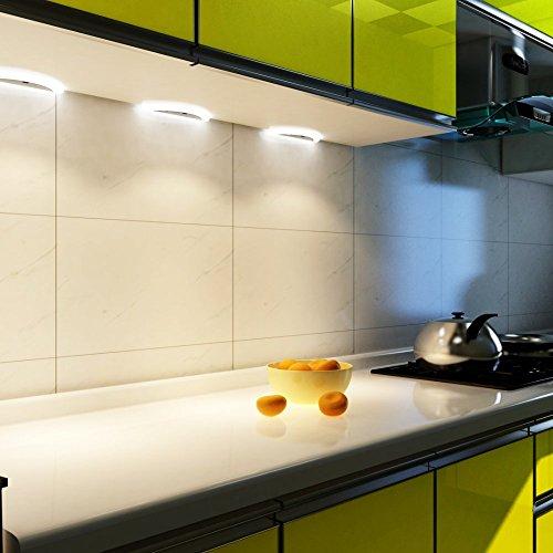 LED Küchenleuchte Sensor SET Unterbauleuchte Küchenlampe Unterbaustrahler, Auswahl:3er Set neutralweiss