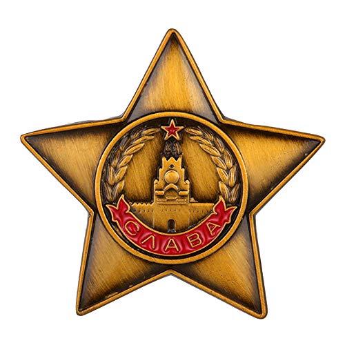 GuDeKe Medalla de la URSS Gloria a la Guerra de Defensa Aérea Soviética Pin de artillería antiaérea AAA