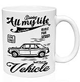 Morris 1100 1962 vehicle power 11oz Taza de café de cerámica de alta calidad